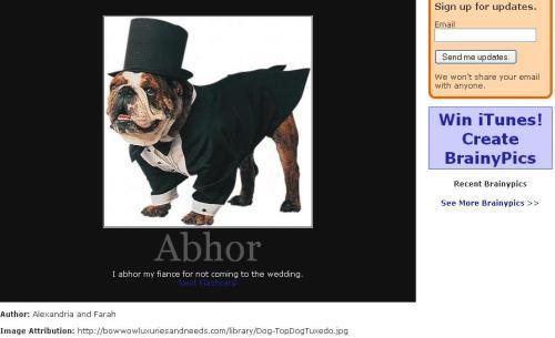 abhor