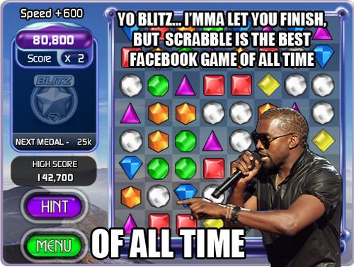 kanye facebook games