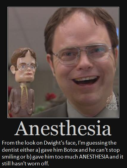 How to Use ANESTHESIA in a Sentence -- Definition - (n) loss of sensation