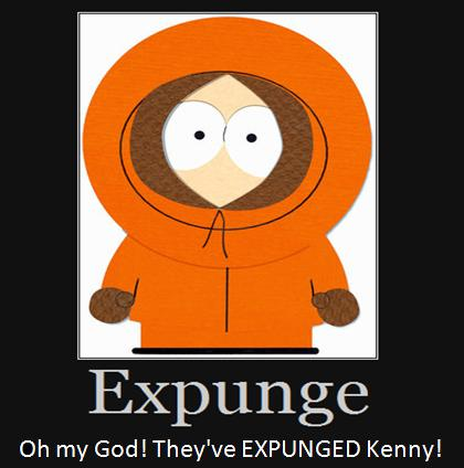 Oh my God! They've EXPUNGED Kenny!