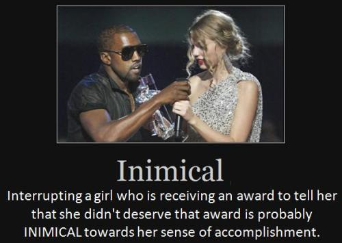 Interrupting a girl who is receiving an award to tell her that she didn't deserve that award is probably inimical towards her sense of accomplishment.